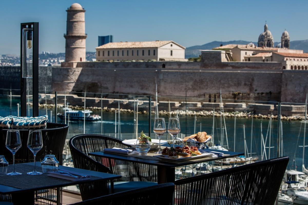 Sofitel marseille vieux port restaurant 2 - Restaurant libanais marseille vieux port ...