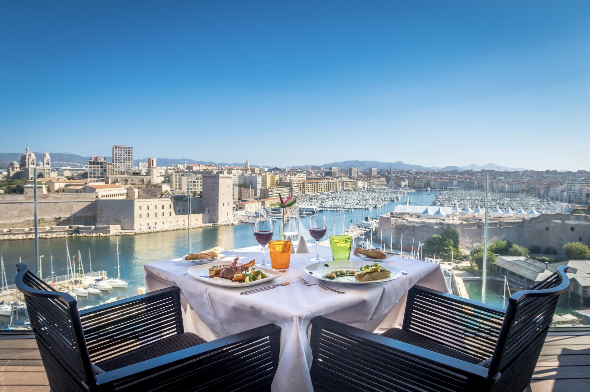 Sofitel Marseille Vieux Port Restaurant Bars